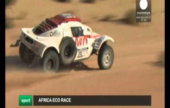 Embedded thumbnail for 2016 01 04 EURONEWS AFRICA ECO RACE 2016