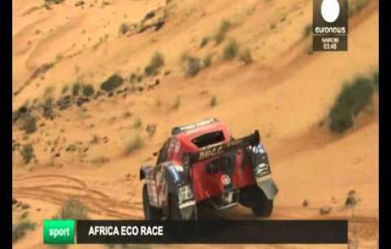 Embedded thumbnail for 2016 01 07 Euronews Africa Eco Race 2016