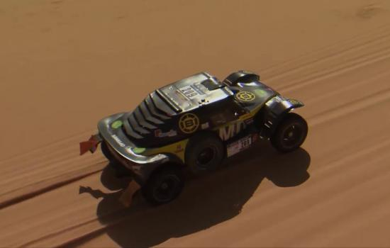 Embedded thumbnail for AFRICA ECO RACE 2018 STAGE 9