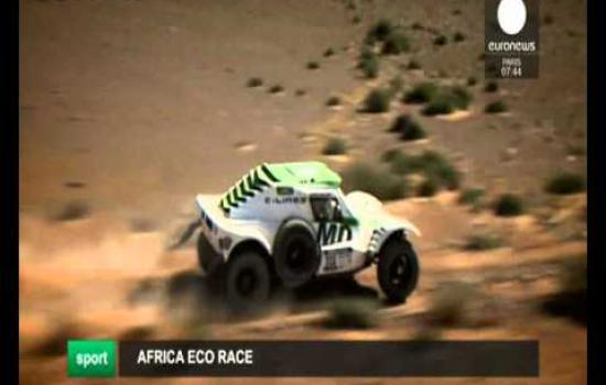 Embedded thumbnail for 2016 01 09 Euronews Africa Eco Race 2016
