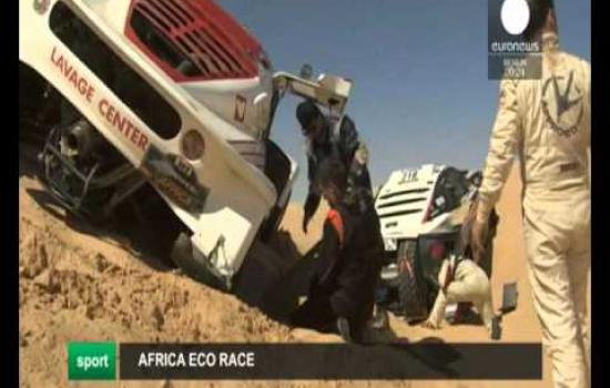 Embedded thumbnail for 2016 01 08 Euronews Africa Eco Race 2016